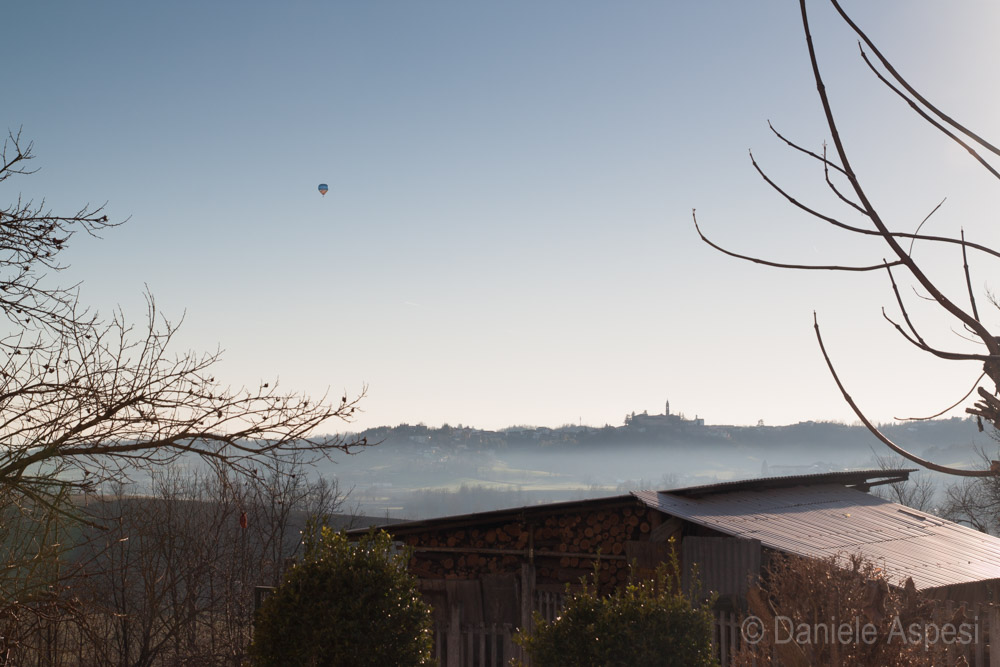Mist on Monferrato hills